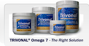 Trivonal for joints, skin and coat, eyes and post op healing